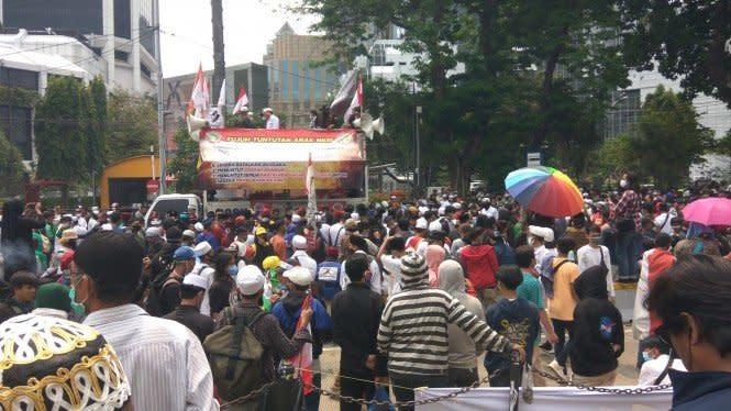 32 Pelajar di Bekasi Diamankan Saat Mau ke Istana Negara