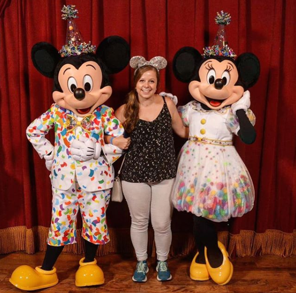 Walt Disney World Mickey and Minnie Mouse 90th birthday outfits