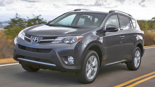 2013 Toyota RAV4, un-rocking the boat: Motoramic Drives