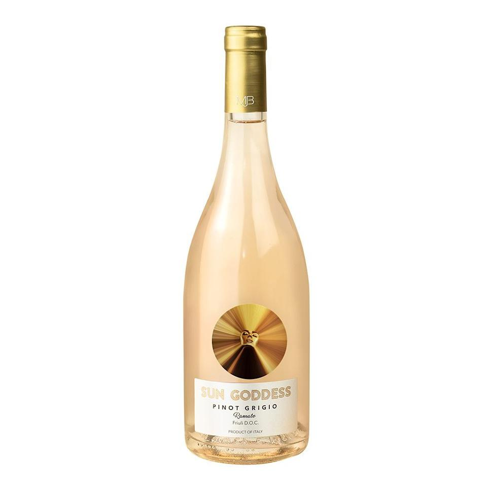 """<p><strong>Sun Goddess</strong></p><p>wine.com</p><p><strong>$19.99</strong></p><p><a href=""""https://go.redirectingat.com?id=74968X1596630&url=https%3A%2F%2Fwww.wine.com%2Fproduct%2Fsun-goddess-by-mary-j-blige-pinot-grigio-ramato-2019%2F638818&sref=https%3A%2F%2Fwww.bestproducts.com%2Feats%2Ffood%2Fg32783709%2Fblack-owned-food-and-drink-brands%2F"""" target=""""_blank"""">Shop Now</a></p><p>A Black-owned wine brand that you should have on your radar, <a href=""""https://www.sungoddesswines.com/"""" target=""""_blank"""">Sun Goddess Wines</a> from <em>actual</em> goddess and music legend Mary J. Blige is bringing some much-needed positive vibes (<a href=""""https://www.foodandwine.com/wine/rose-wine/12-black-owned-rose-wines-to-try"""" target=""""_blank"""">and Black-owned representation</a>) to the <a href=""""https://punchdrink.com/articles/time-to-decolonize-wine-sommelier-racism-restaurants/"""" target=""""_blank"""">predominantly white</a> world of wine.</p><p>This Pinot Grigio Ramato is fresh and fruity, and it has a gorgeous pale orange hue. It practically screams summer. Read <a href=""""https://www.bestproducts.com/eats/drinks/a33340933/mary-j-blige-sun-goddess-wine-review/"""" target=""""_blank"""">our full review right here</a>.</p><p><strong>More: </strong><a href=""""https://www.bestproducts.com/lifestyle/a32731333/black-owned-businesses/"""" target=""""_blank"""">Support These Small Black-Owned Beauty Brands</a></p>"""