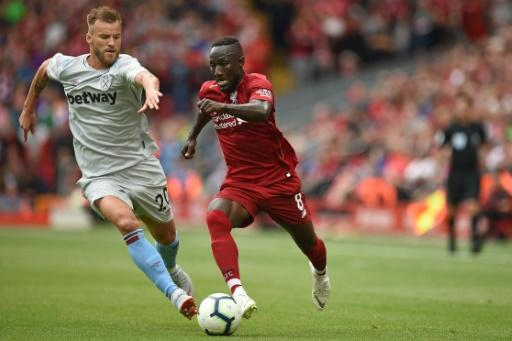 Naby Keita impressed on debut for Liverpool