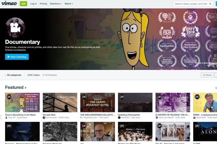 Vimeo free movies