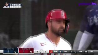 【MLB好球】第九棒也不容忽視 Mayfield炸裂陽春砲