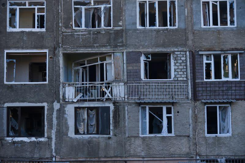Azerbaijan claims advances in Karabakh, Armenia vows historic struggle