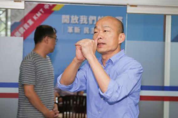 韓國瑜自認「民進黨fu」 陳其邁強調:完全不像!