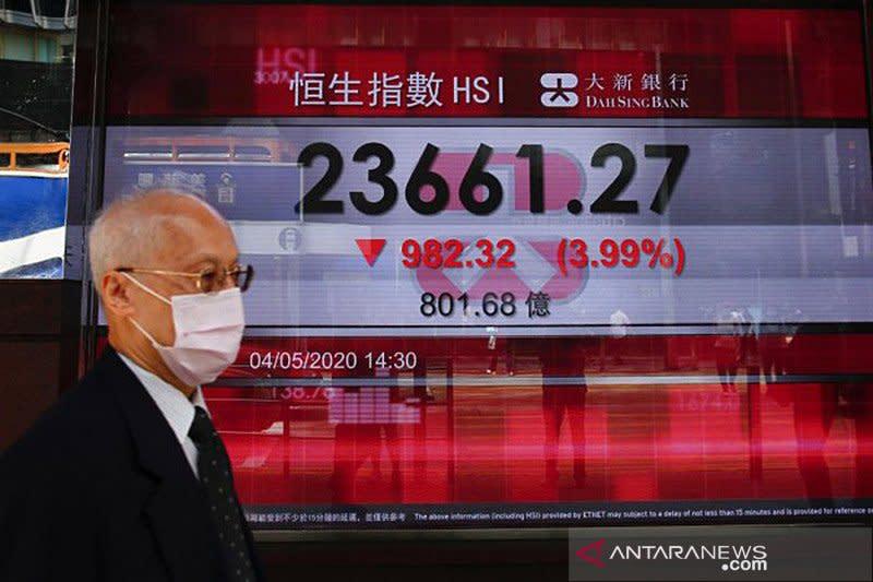 Saham Hong Kong dibuka menguat dengan indeks HSI naik 0,25 persen