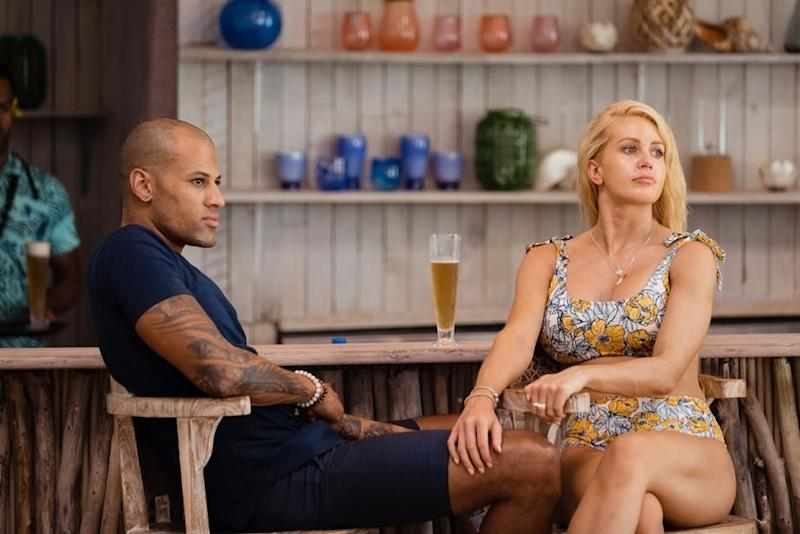 Leah claims Ali was led on by Grant just so he could in Paradise. Source: Ten