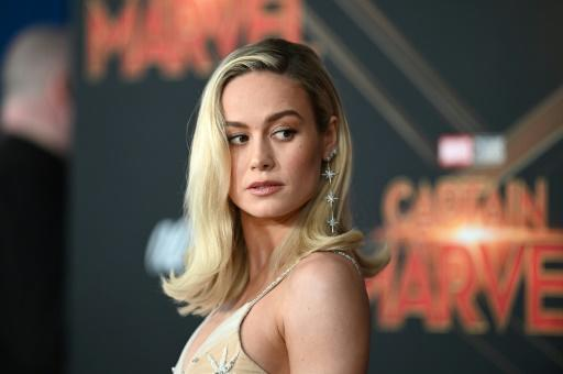 Brie Larson surprised fans at 'Captain Marvel' screening and served them popcorn