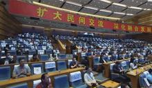 藍委以影片出席海峽論壇 綠:淪為中宣傳工具