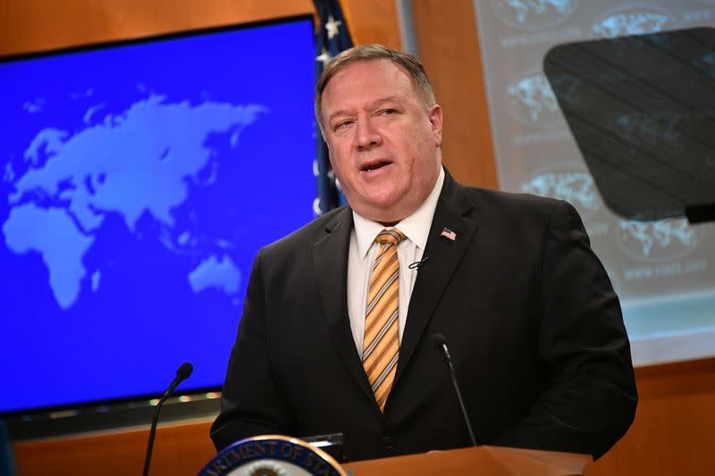 U.S. curbs visas for Chinese officials over Hong Kong freedoms: Pompeo