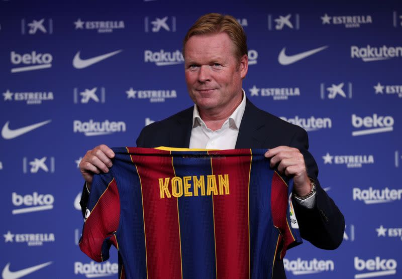 Koeman hints at different approach from Barca after friendly win