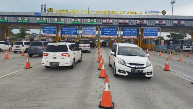 111 Ribu Kendaraan Menuju Jakarta Hingga H+1 Lebaran 2020