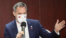 布拉格市長賀瑞普接受台灣媒體訪問 (圖)