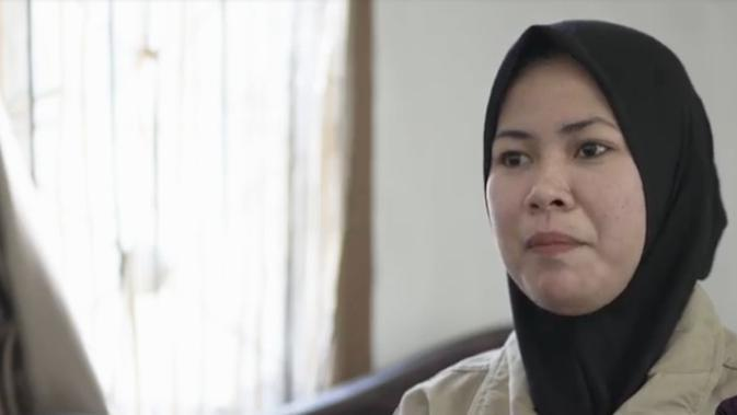 Rafika, penyandang disabilitas asal Sulawesi Tengah dilatih tangguh hadapi bencana alam dan tergabung dalam Ageing dan Disability Focal Point (ADFP). (Printscreen Video CBM Humanitarian Response)