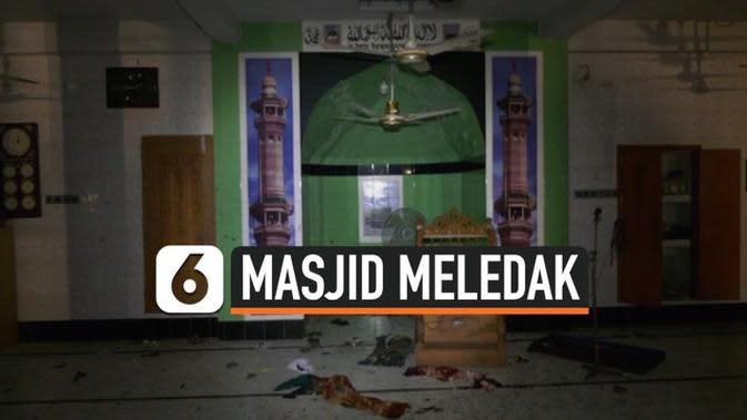 VIDEO: Masjid Meledak Saat Salat Isya Berjamaah, 24 Tewas