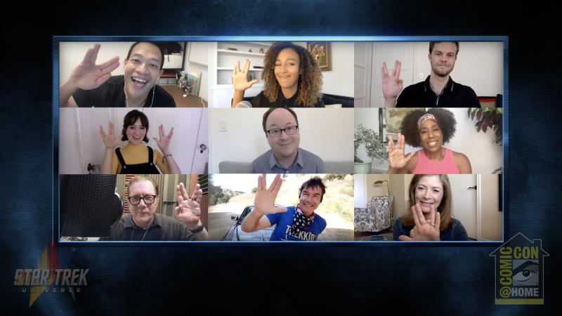 Star Trek: Lower Decks Comic-Con at Home panel