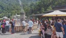 民眾報復性出遊! 太平山上午湧入4000名遊客