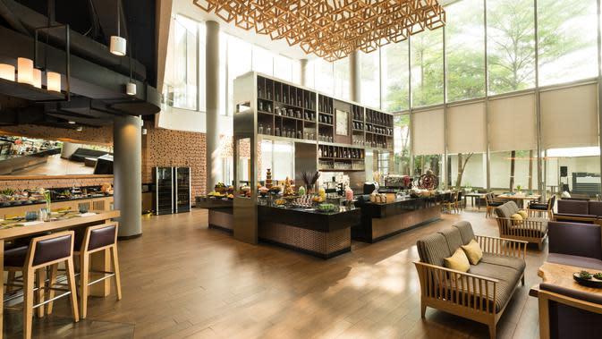 OPEN} Restaurant di DoubleTree by Hilton Jakarta - Diponegoro. (dok. DoubleTree by Hilton Jakarta - Diponegoro)