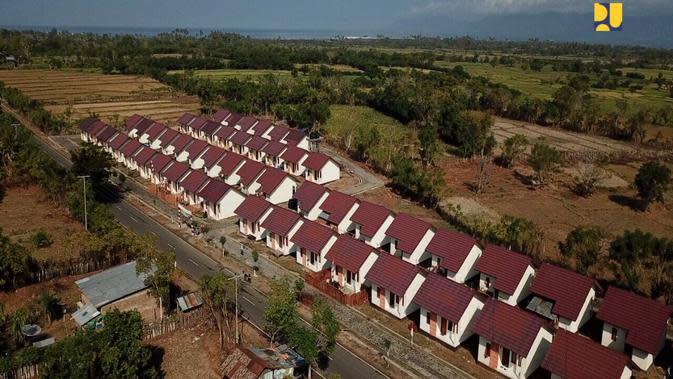 Rumah Khusus Nelayan di Sumbawa, NTB. Dok Kementerian PUPR