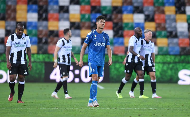 Juve face wait to clinch title after late defeat at Udinese