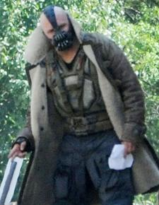 Tom Hardy's Bane Is Scary, Bald in 'Dark Knight Rises' Set Photo