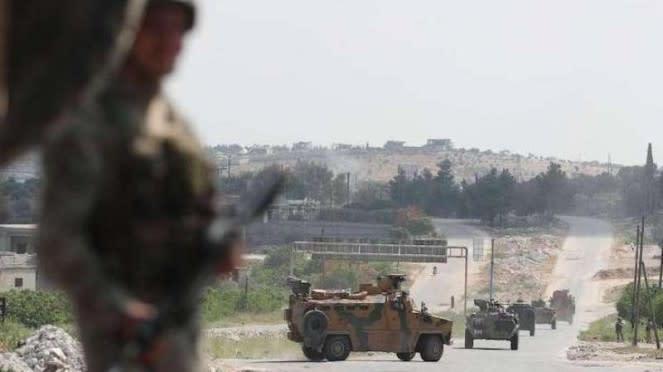 VIVA Militer: Konvoi kendaraan lapis baja militer Turki