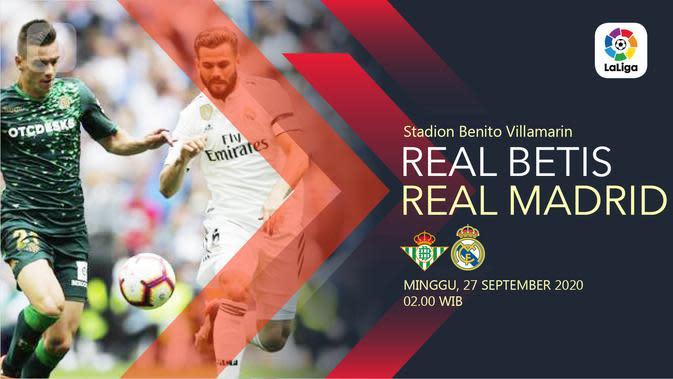 Real Betis vs Real Madrid (Liputan6.com/Abdillah)