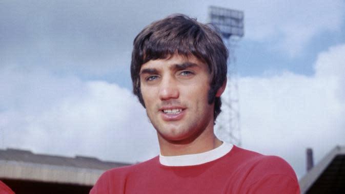 Legenda Manchester United, George Best. (dok. Manchester United)