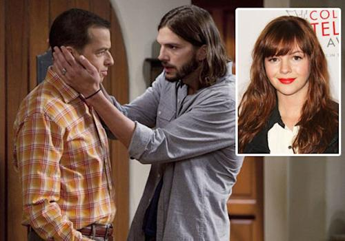 Two and a Half Men Scoop: Amber Tamblyn Cast as Charlie's Long-Lost Lesbian Daughter