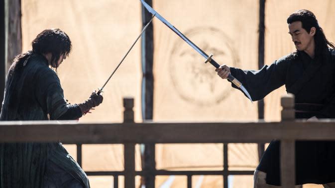 Penampilan Joe Taslim di Swordsman. (Foto: atas perkenan CBI Pictures)