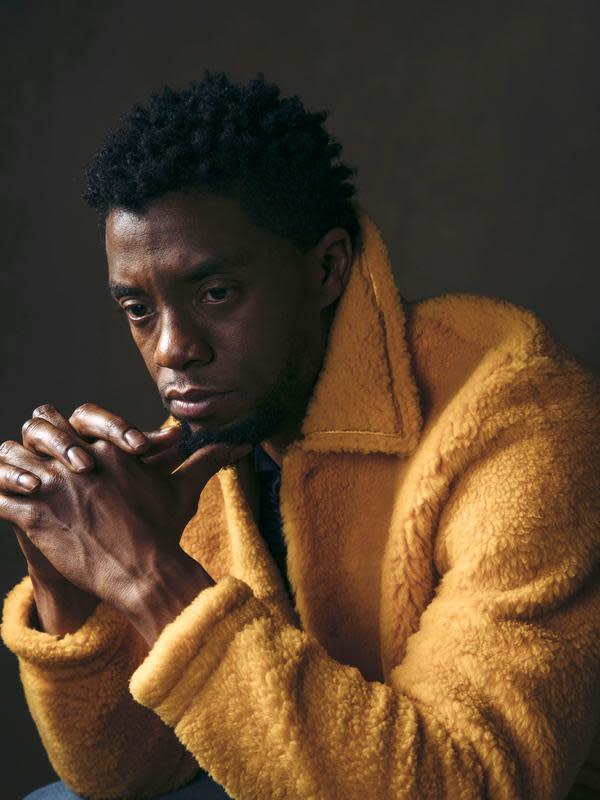 Chadwick Boseman. (Photo by Victoria Will/Invision/AP, File)