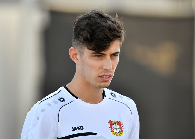 Chelsea's Lampard says Havertz will be given time to blossom
