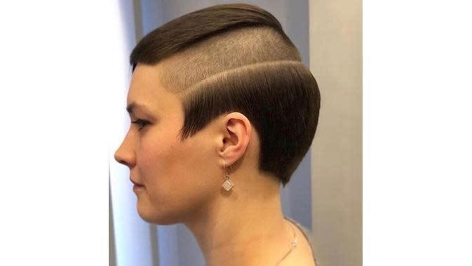 Gaya rambut nyeleneh (Sumber: Brightside)