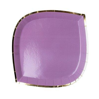 Jollity Co Party Boutique Posh Lilac You Lots Heavy Weight Paper Disposable Dinner Plate Heavy Duty Paper In Purple Size 9 H X 9 W X 1 D Wayfair Yahoo Shopping