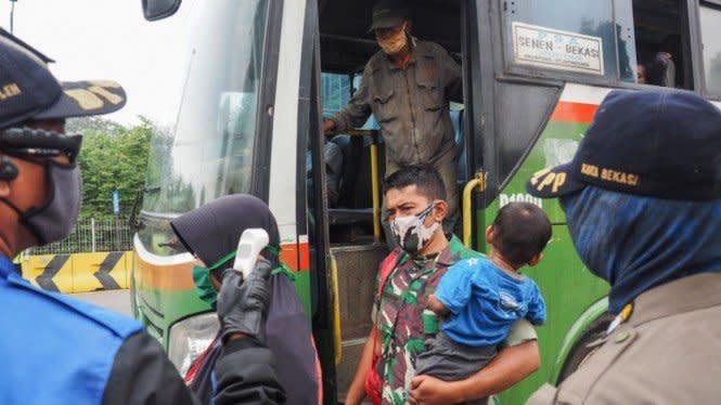 PSBB Bogor Depok Bekasi Diperpanjang 14 Hari