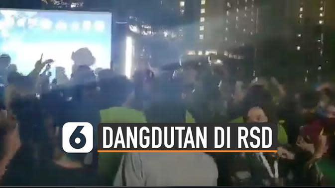 VIDEO: Viral Dangdutan di RSD Wisma Atlet