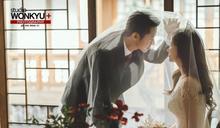 韓國男團Click B成員吳鍾赫婚紗寫真曝光