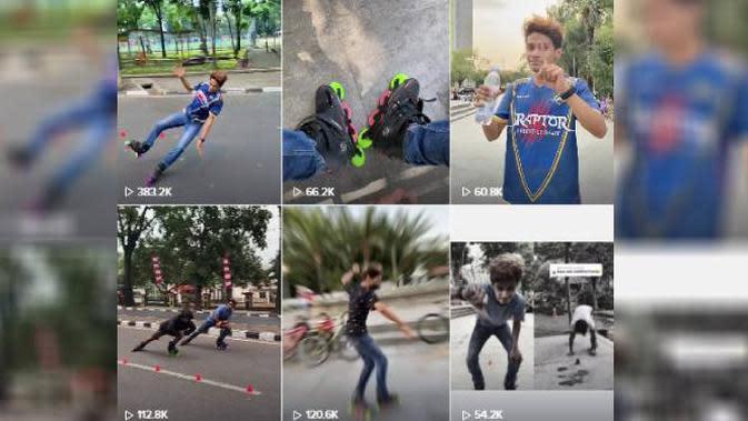 Hobi Main Sepatu Roda Bikin Kreator TikTok Ini Raup Jutaan Follower