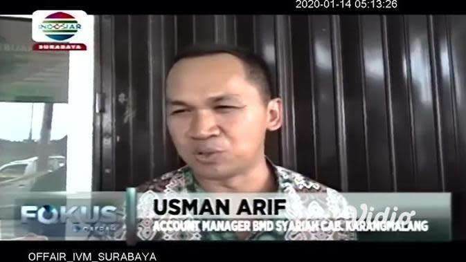 VIDEO: Pencuri Bobol Mesin ATM di Sebuah Bank Syariah