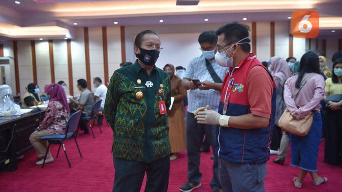 Hasil Uji Seka Gubernur Sulteng Usai Kontak dengan Asisten II yang Positif Covid-19