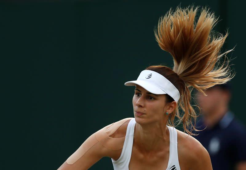 Tennis: Pironkova comeback continues with win over Muguruza