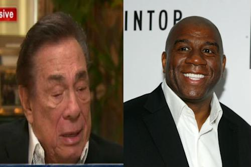 Donald Sterling Slams Magic Johnson: 'What Has He Done? He's Got AIDS… I Think He Should be Ashamed'