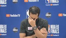 熱火無緣冠軍金盃 總教練賽後失落哭了