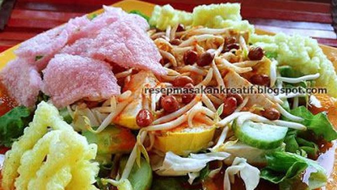 ilustrasi Resep makanan vegetarian khas Indonesia yang menyehatkan dan cocok untuk diet/resepmasakankreatif.blogspot.com/