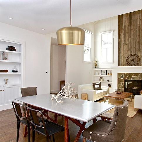 Living Room Restaurant Pendant Lighting for Bedroom Brass Creative Home Decoration Lamp LamppoDesign Metal Gold Ceiling Light