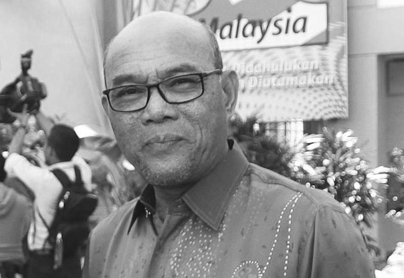 Mohd Khusairi Abdul Talib died due to a heart attack in Bentong Hospital in Pahang July 15, 2020. — Picture from Perak Mentri Besar's Office