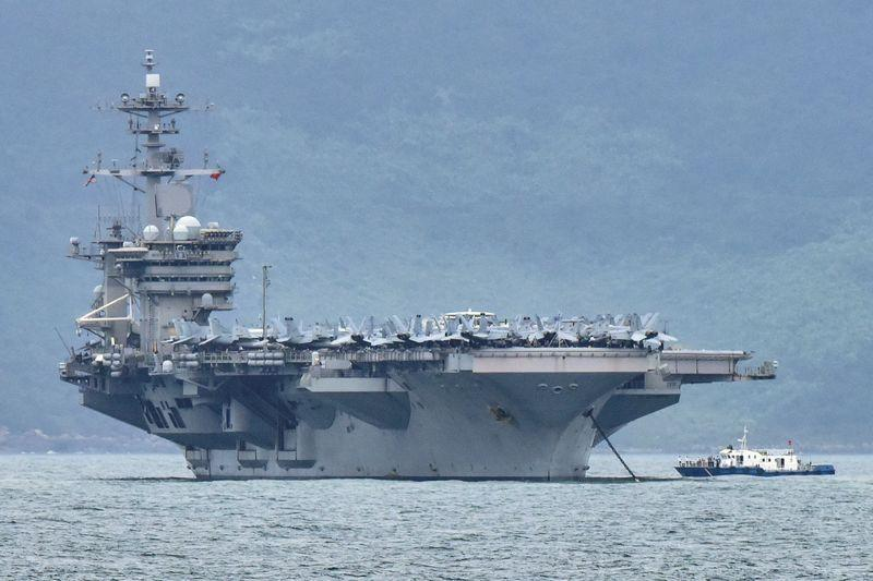 Eksklusif: Tes Angkatan Laut AS menunjukkan 60 persen awak kapal memiliki antibodi virus corona