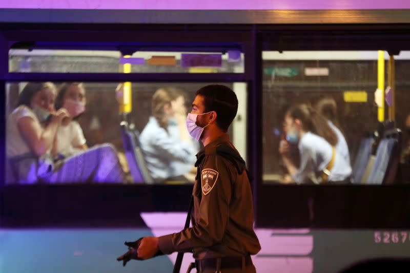 Israel curbs contagion zones, health chiefs self-isolate