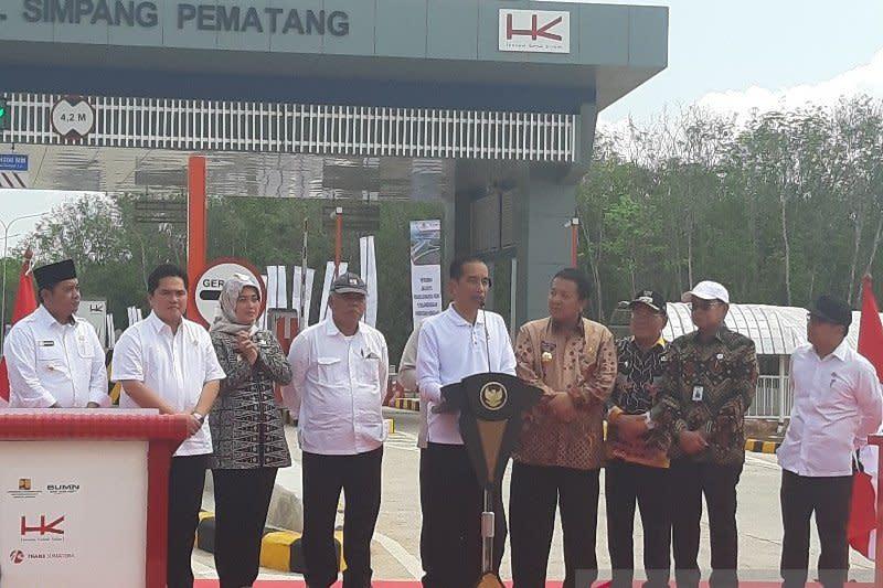 Menteri PUPR: Keberadaan tol di Sumatera tekan biaya logistik