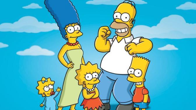 Keluarga The Simpsons. (Fox)